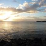 Coucher de soleil sur Ilet Pigeon