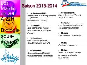Planning 2013-2014