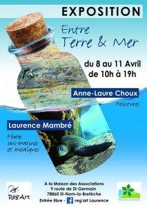 Affiche Exposition Entre Terre et Mer